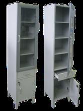 Медицинский шкаф (металлический)