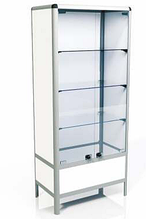 Медицинский шкаф 2-х створчатый, металлический