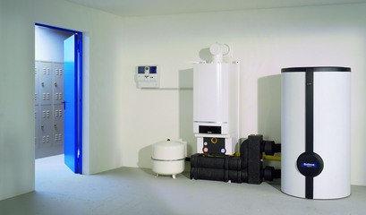 Настенный конденсационный котел Buderus Logamax plus GB162 65 кВт (без дымохода), фото 2