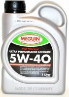Моторное масло MEGUIN  Moto. Ultra Perf-ce Longlife 5w40 1 литр