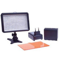 Накамерный прожектор LED-5020 + аккумулятор + зарядка, фото 1