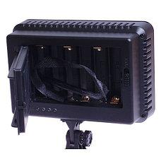 Накамерный прожектор LED-5020 + аккумулятор + зарядка, фото 3