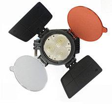 Накамерный прожектор LED 5001 + аккум.+зарядка, фото 2