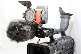 Накамерный прожектор LED-5005 + аккумулятор + зарядка