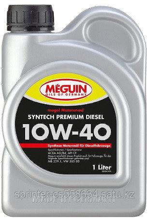 Моторное масло MEGUIN  Moto Sint Premium Diesel 10w40 1 литр