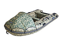 Моторная лодка ПВХ GLADIATOR E 380 CAMO Air с НДНД CAMO