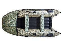 Моторная лодка ПВХ GLADIATOR E 380 CAMO Air с НДНД CAMO, фото 3