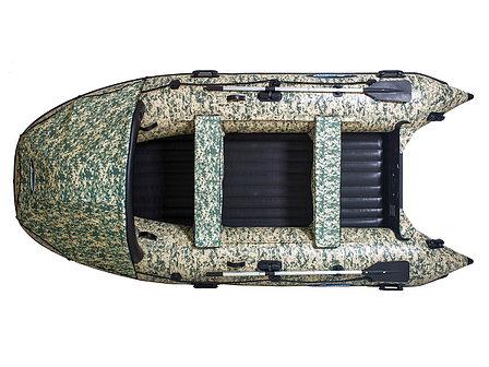 Моторная лодка ПВХ GLADIATOR E 420 CAMO Air с НДНД, фото 2