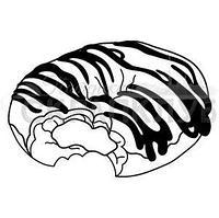 """ФП штамп """"Какой пончик на вкус?"""""""
