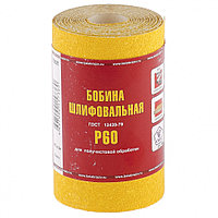 Шкурка на бумажной основе, LP41C, зерн. 25Н(P60), мини-рулон 100мм х 5м (БАЗ)// Россия