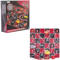 """Spin Master 6039198 Настольная игра """"Канаты и лестницы"""" Disney Тачки"""