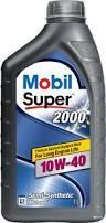 Моторное масло Mobil Super 2000 10w40 1 литр