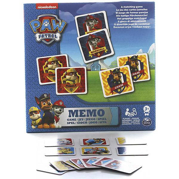 Paw Patrol 6033326 Щенячий патруль Мемори, 48 карточек