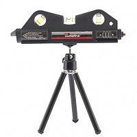 Лазерный уровень, 170 мм, 150 мм штатив, 3 глазка, MATRIX, 35020, фото 1