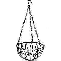 Кашпо подвесное, диаметр 25,4 см, высота с цепью и крюком 53,5 см, PALISAD, 69016