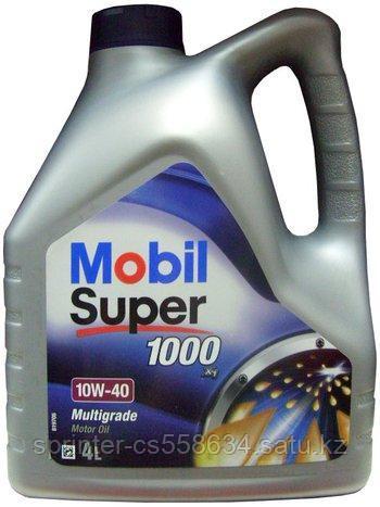 Моторное масло MOBIL SUPER 1000 X-1 15w40 4 литра