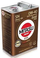 Моторное масло Mitasu gold SN 0w40 4 литра