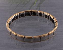 Энергетический стальной браслет с германием