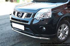 Обвес, защита бамперов, порогов из нержавеющей стали Nissan X-Trail 2011-2014