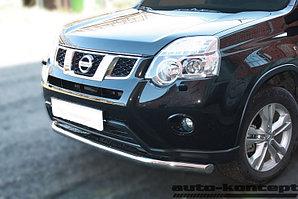 Защита передняя D 60,3 Nissan X-Trail 2011-2014