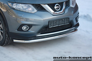 Защита передняя большая D 60,3  Nissan X-Trail 2015-