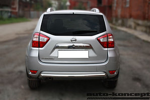 Защита задняя D 60,3 Nissan Terrano 2014-