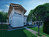 Дизайн экстерьера частного жилого дома, фото 3