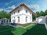 Дизайн экстерьера частного жилого дома, фото 4