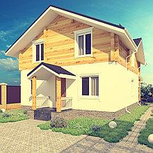 Дизайн-проект экстерьера жилого дома