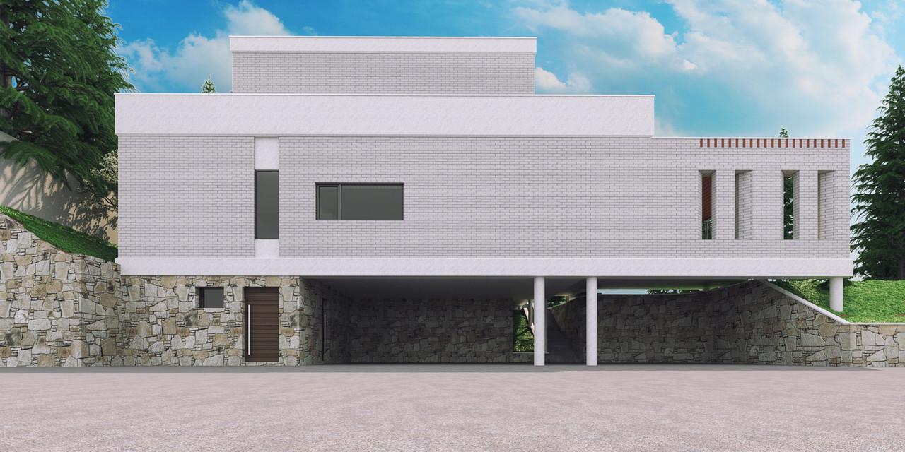 Дизайн экстерьера индивидуального жилого дома