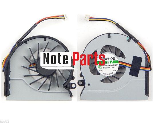 Вентилятор (кулер) с радиатором для ноутбука  Lenovo IdeaPad Z480, Z485, Z580, Z585, 4pin , фото 2