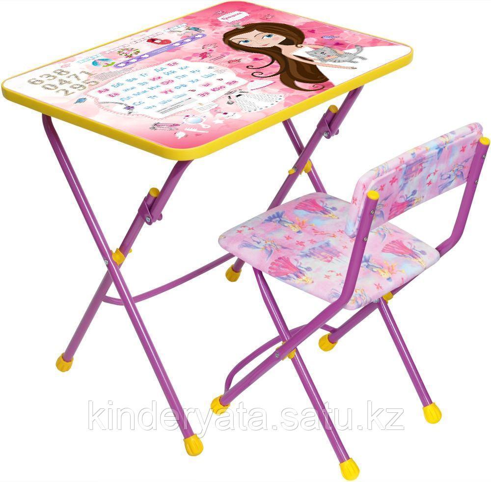 НИКА Набор детской мебели Волшебный мир принцесс