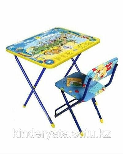 НИКА Набор детской мебели Познаю мир