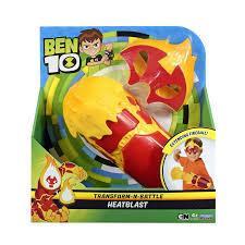 Ben 10 Боевое снаряжение Человек огонь