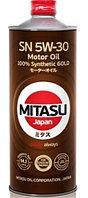 Моторное масло MITASU GOLD SN 5w30 1 литр