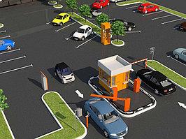 Автоматизированные платные парковки.