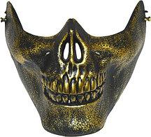 Маска на пол лица Череп на Хэллоуин