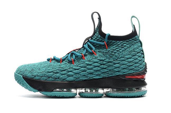 Баскетбольные кроссовки Nike Lebron 15 (XV) from LeBron James синие, фото 2