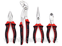 Набор шарнирно-губцевого инструмента ZEBRA, 4 предмета