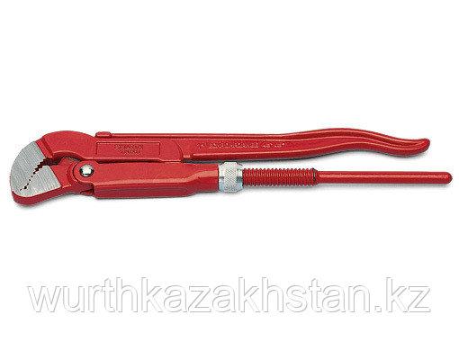 Газовый ключ попугай до 46 мм.   L = 415 мм,с фигурными губ