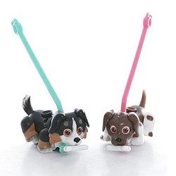 Pet Club Parade PTD01111 Пет Клаб Парад Фигурки собачек в комплекте с косточками и поводком, ассорт.