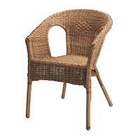 Кресло АГЕН ротанг, бамбук ИКЕА, IKEA