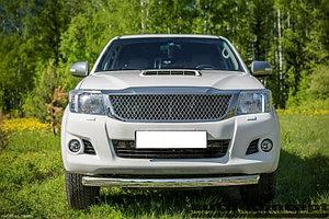 Защита передняя D 76,1 Toyota  Hilux 2011-2015
