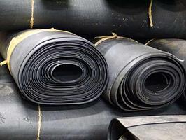 Техпластина, резина МБС рулонная, от 2-х до 10 мм.