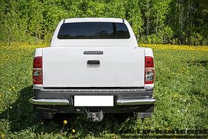 Защита задняя уголки одинарные D 76,1 Toyota  Hilux 2011-2015