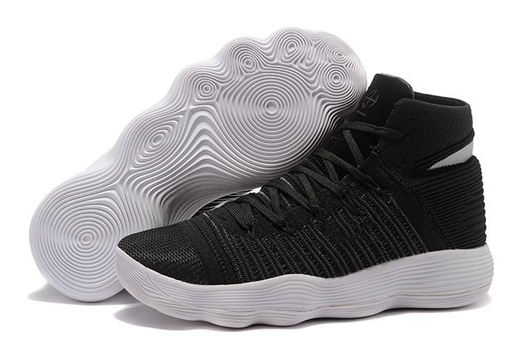 Баскетбольные кроссовки Nike Lunar Hyperdunk 2017 flyknit черные