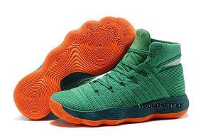 Баскетбольные кроссовки Nike Lunar Hyperdunk 2017 flyknit зеленые