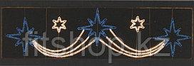 Горизонтальное световое панно  5 звезд 110*400