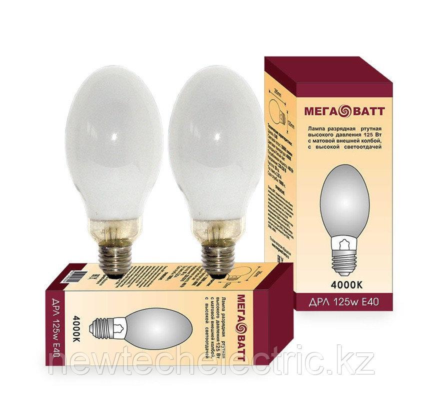 Лампа газоразрядная ртутная ДРЛ 125 МЕГАВАТТ