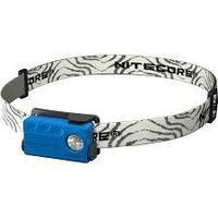 Фонарь налобный светодиодный NITECORE NU20 blue, с аккумулятором